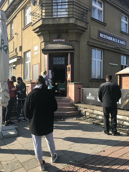 Restaurace U Anči. Den okének v Olomouci, 7. listopadu 2020