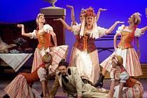 Opereta Polská krev na scéně Moravského divadla