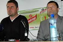 Tiskovka Sigmy: Zdeněk Psotka a Josef Lébr