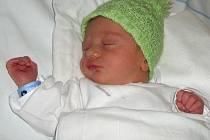 Jakub Pacuta, Olomouc, narozen 21. prosince v Olomouci, míra 50 cm, váha 3110 g