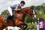 Natálie Roučková. Světový pohár CSI*** Olomouc. Závody pro šestileté a sedmileté koně.