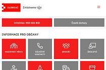 Město Olomouc má nové webové stránky ke koronaviru