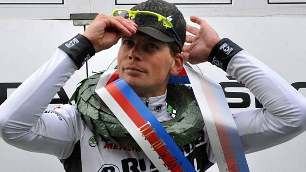 Petr Dlask po vítězství v Lošticích