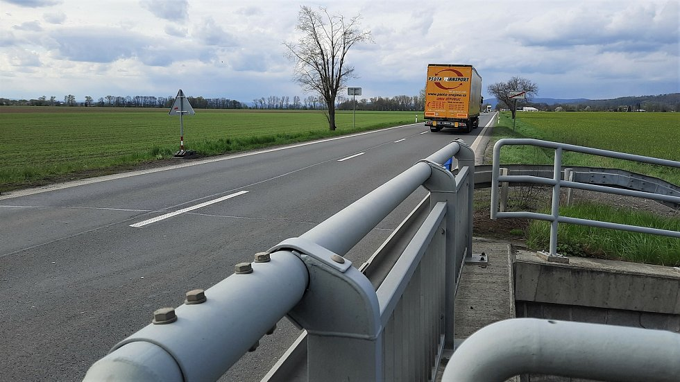 Od 10. do 14. května 2021 bude probíhat rekonstrukce mostu silnice I/46 vDolanech.