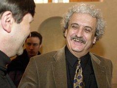 Pavel Dostál jako ministr kultury v roce 2004