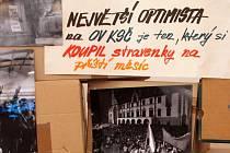 Sbírkový den projektu Europeana 1989 ve Vlastivědném muzeu v Olomouci
