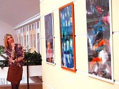 Výstava výtvarníka Ladislava Grossmanna v prostějovském Atriu
