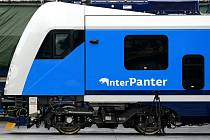 Moderní rychlík ČD InterPanter