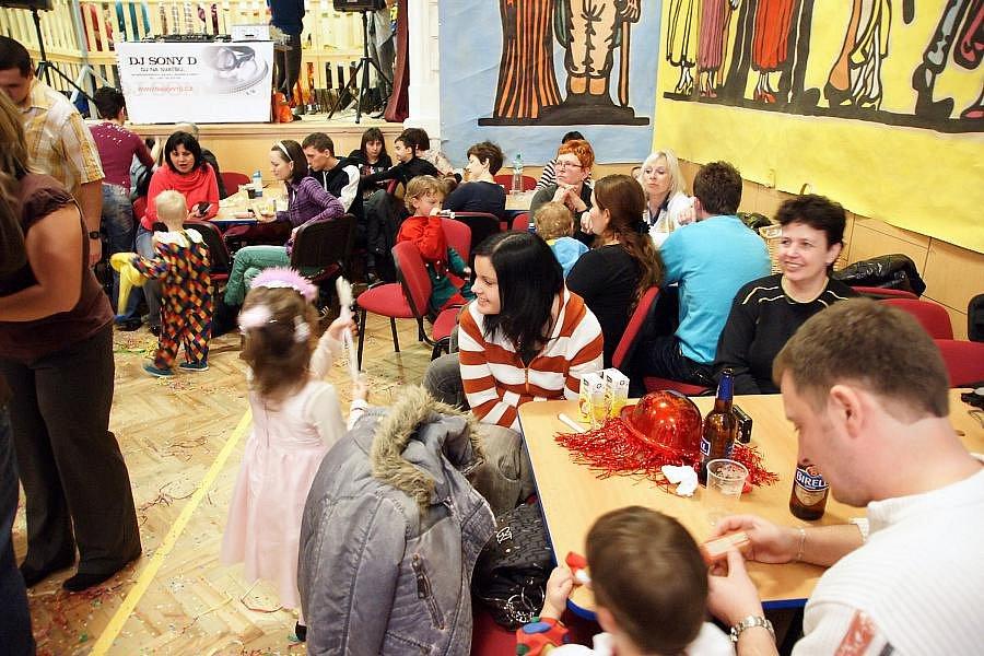 Maškarní karneval v Křelově
