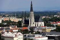 Katedrála svatého Václava v Olomouci.