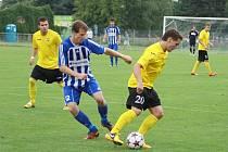 SK Uničov vs. FC Hlučín - Dušan Žmolík