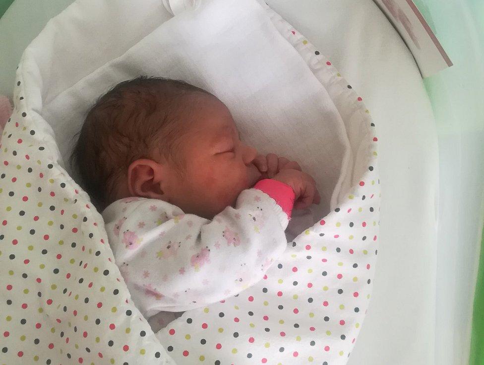 Adriana Mia Sedláková, Mohelnice, narozena 3. ledna, míra 51 cm, váha 3450 g