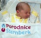 Tomáš Zavadil, Uničov, narozen 20. února ve Šternberku, míra 47 cm, váha 2890 g