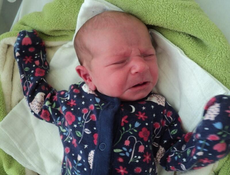 Rozálie Horňáčková, Dolany narozena 27. srpna míra 48 cm, váha 3010 g