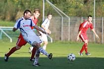 Fotbalisté FK Šternberk vs. FC Dolany - Roman Penc