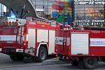 Hasiči zasahovali v OC Šantovka v Olomouci, 13. února 2020