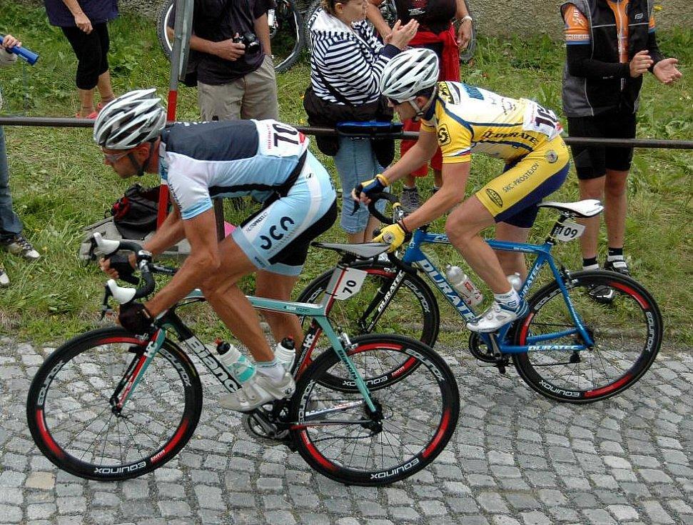 Mezinárodní mistrovství ČR a SR v cyklistice na Svatém Kopečku u Olomouce