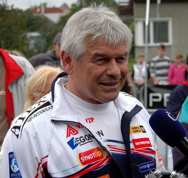 Trenér Sáblíkové Petr Novák