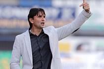 Martin Kotůlek jako trenér Sigmy v září 2013