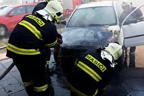 Jednotky profesionálních hasičů Olomouckého kraje dnes v pondělí 20.srpna zasahovaly po 16 hodině u tří požárů osobních vozidel