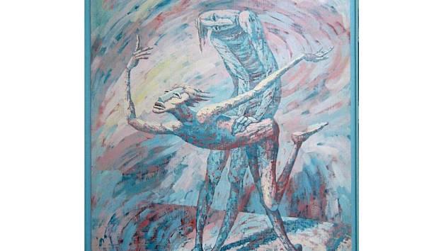 Ukradený obraz Lekce létání od autora Víta Johna