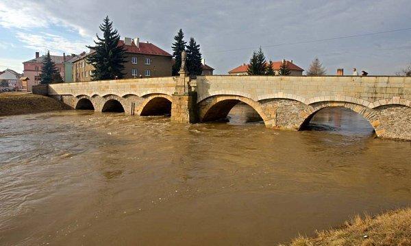 Morava vLitovli 1.března 2012