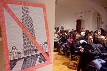 Vlastivědné muzeum hostilo diskuzi na téma Rozvoj města a výškové stavby v Olomouci?