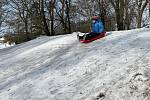 Zimní radovánky v olomouckých parcích, 11. února 2021
