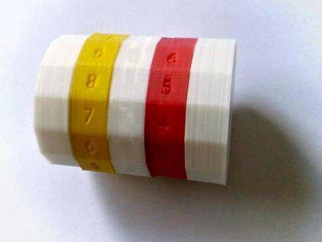 Počítadla na pétanque vytištěná na 3D tiskárně