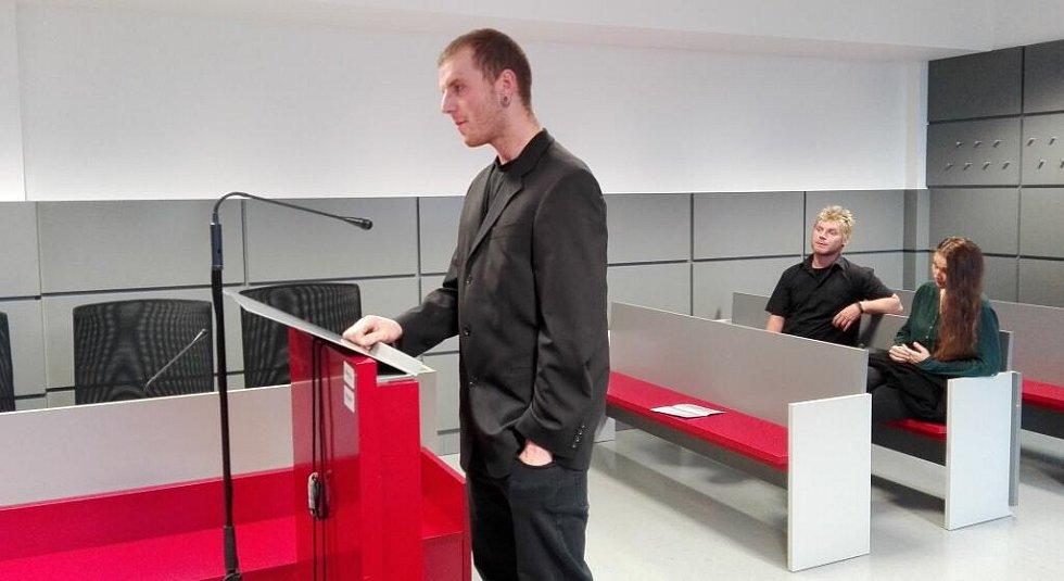Radek Paloncý před krajským soudem v Olomouci