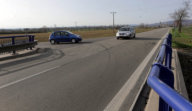 Nebezpečná křižovatka na I/46, odbočka na Štarnov
