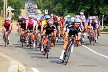 Druhá etapa Czech Cycling Tour projíždí Javoříčkem
