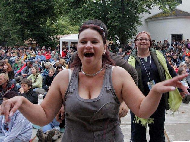 Publikum festivalu Zahrada v Náměšti na Hané