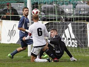 Horka kuriózně skóroval z penalty. HFK porazil Slavičín