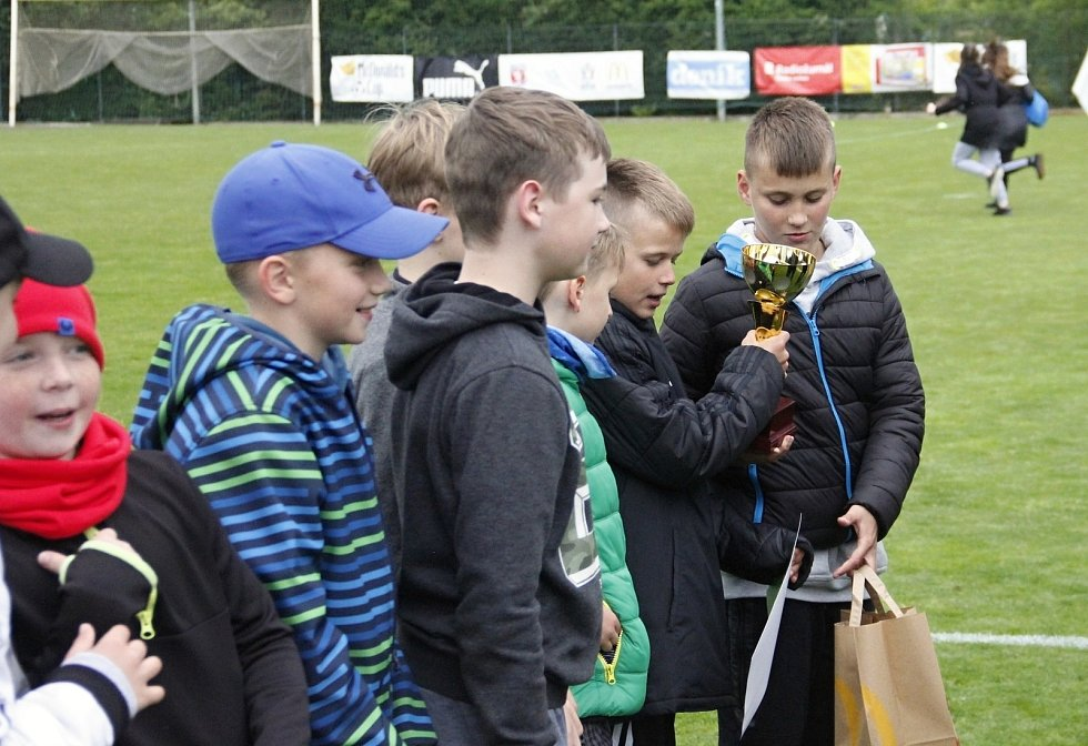 Přerov skončil na třetím místě turnaje starších žáků.