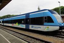 Stadler GTW by mohl jezdit jezdit v Olomouckém kraj. Takto by vypadal po přelakování