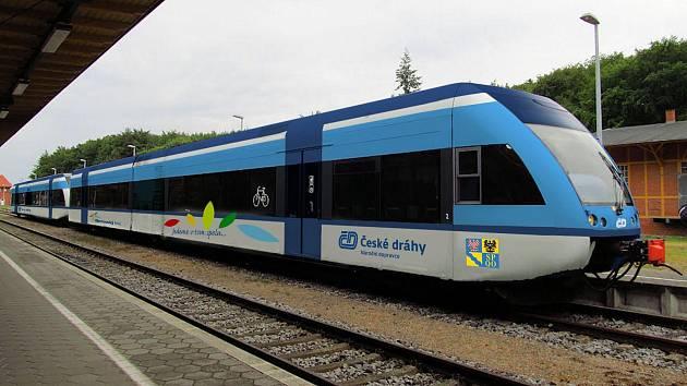 Stadler GTW bude jezdit v Olomouckém kraj. Takto by vypadal po přelakování