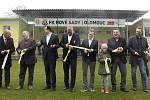 V areálu na Nových Sadech slavnostně otevřeli nové zázemí pro regionální fotbalovou akademii. Dorazil i Karel Poborský.