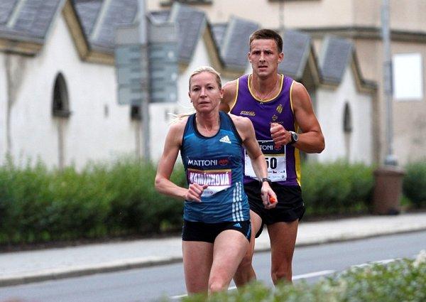 Pátý ročník olomouckého půlmaratonu.  Petra Kamínková