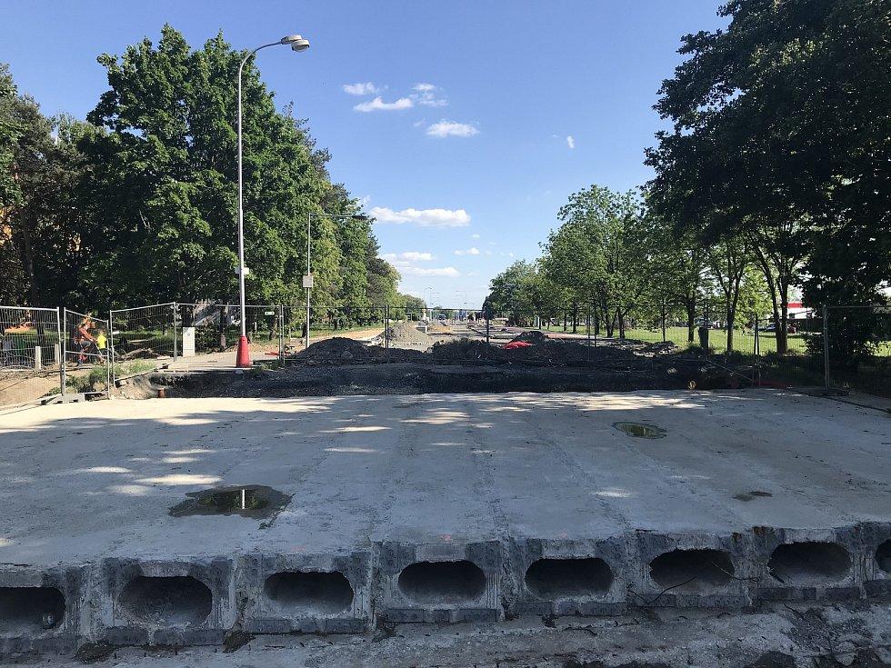 Rekonstrukce průtahu Šternberkem, ulice Věžní 1. června 2020