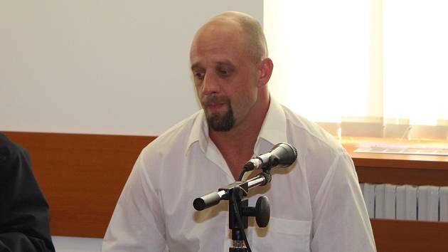 Lukáš Pulkert u okresního soudu v Šumperku