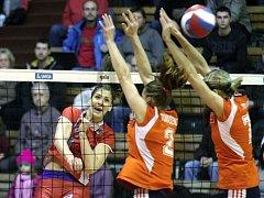 Olomoucké volejbalistky v semifinále poháru proti Prostějovu