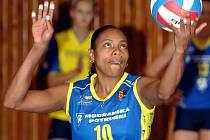 Brazilská směčařka Solange Soaresová ve službách Prostějova.
