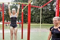 Workoutové hřiště. Ilustrační foto