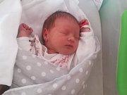 Eliška Zatloukalová, Budětsko, narozena 2. ledna, míra 50 cm, váha 3370 g