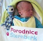 Dominik Pechr, Pňovice, narozen 18. března ve Šternberku, míra 51 cm, váha 3540 g