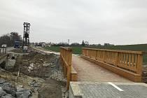 Nová cyklostezka mezi Velkým Týncem a místní částí Čechovice