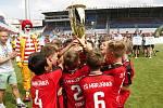 Žáci ZŠ Marjánka brali pohár za druhé místo.