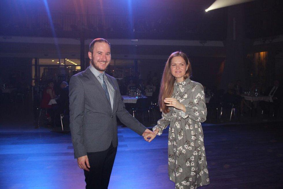 Městský ples 2019 v pavilonu A olomouckého výstaviště Flora