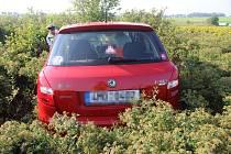 Nehoda na kruhovém objezdu v Olomouci, 28. 8. 2019